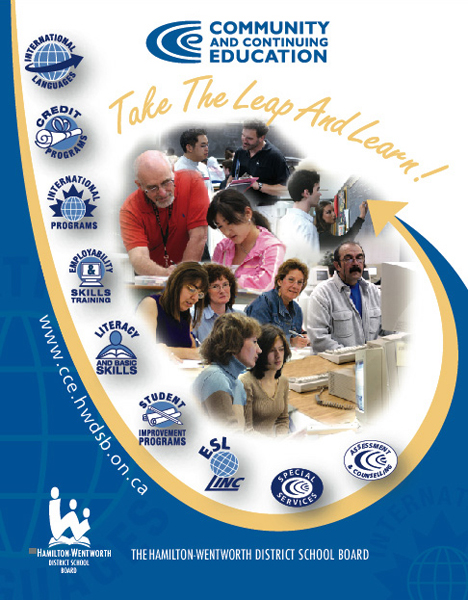 HWDSB continuing education publication